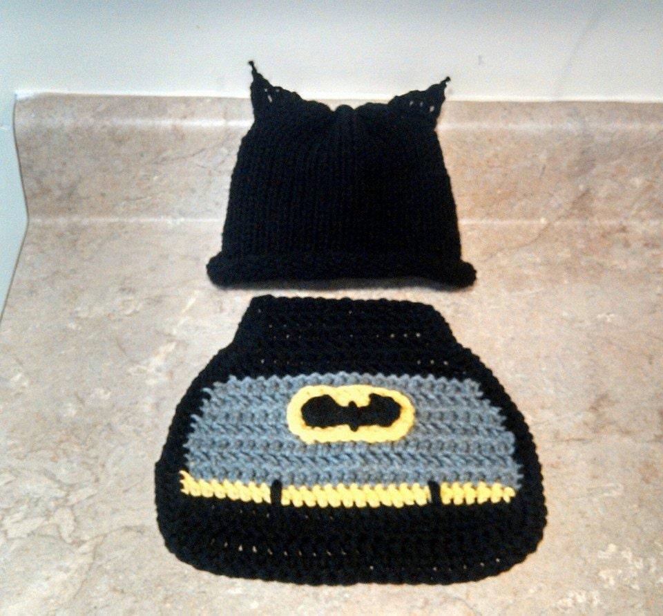Crochet batman hat and cape pattern traitoro for batman newborn baby boy newborn crochet outfit batman outfit dt1010fo