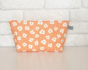 Peach Blossom Makeup Bag / Cosmetic Bag