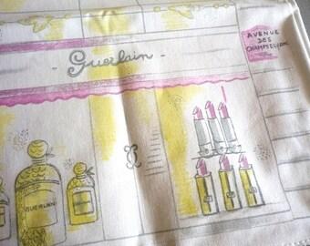 GUERLAIN ~ Authentic Paris Champs Elysees Tote Bag/Handbag