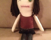 """Creepy n Cute Zombie Doll - """"Maggie"""" - Inspired by TWD (D & P)"""