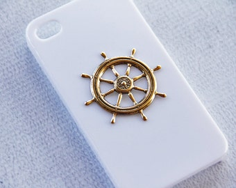 iPhone 6s  Nautical Case Ship Whee Sailing Sailor Cover Bumper for the iPhone 7  Vintage Case iPhone Hard Cover Sailboat