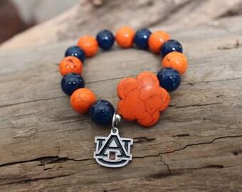Auburn Charm Bracelet