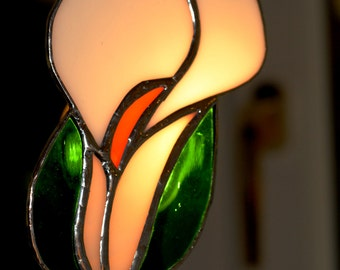 Stained Glass Decorative Calla (Peace) Lily