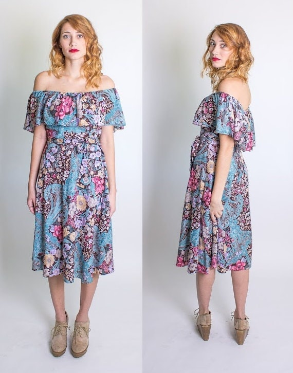 BoHo Hippie Dress on Etsy Beulah Louise Vintage