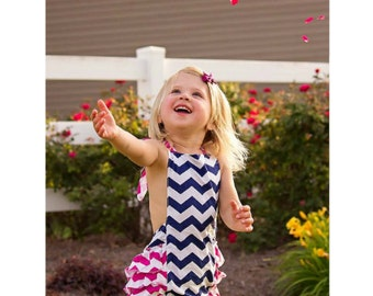 Little Girls Bubble Rompers // Summer Outfit Romper // Toddler Bubble Rompers