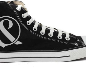 Of MIce&Men handpainted Converse shoes
