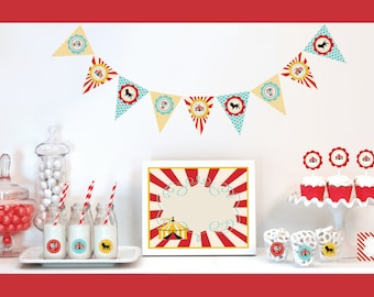 Carnival Theme Party Carnival Birthday Party Ideas Carnival Party Decorations KIT Carnival Party Supplies - 1st Birthday Ideas (EB4000CC)