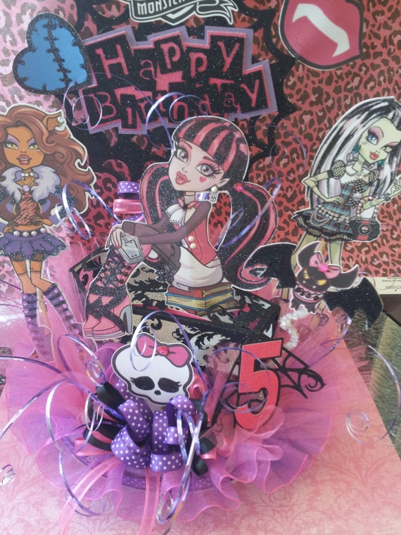 Monster High Birthday Cake Topper by CreativeMoments4You ...