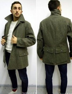 New Vintage Swedish wool M39 army blazer coat field jacket