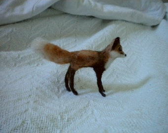 Needle felted Mini Fox