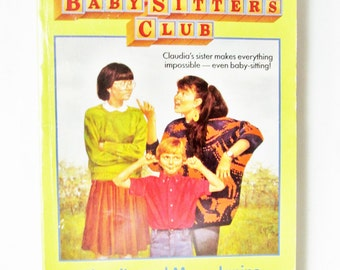 the baby sitters club 7 claudia and mean janine by ann m martin. Black Bedroom Furniture Sets. Home Design Ideas