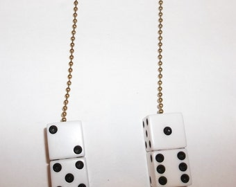 Lucky Seven Dice ceiling fan pull chain