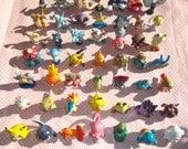 CUSTOM Pokemon figure jewelry necklace phone charm strap keychain slowking glaceon Dragonite bulbasaur pikachu gloom clefairy torchic mewtwo