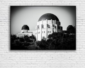 Griffith Park Observatory Giclee Print | Los Angeles Print | Fine Art Photography | Silverlake | Hollywood | Hollywood at Night