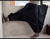 Bat Wings - Harem Pants - Sarouel - Afghan Pants - Aladdin - Hippie Pants