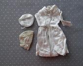 Vintage Barbie White Magic Satin Coat Set 1960's