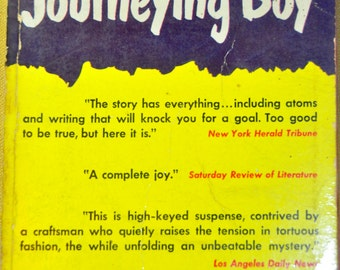 Mystery. Vintage Mystery Paperback. The Case of the Journeying Boy by Michael Innes, 1950. Pocket Book 741.
