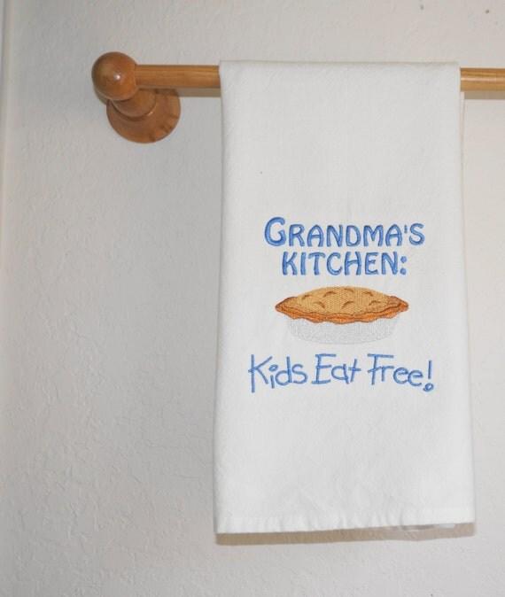 Grandmothers Kitchen: Grandma's Kitchen Tea Towel By WackadoodlesbyLaura On Etsy