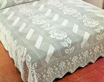Crochet Bedspread | CROCHET BEDSPREADS PATTERNS - Crochet