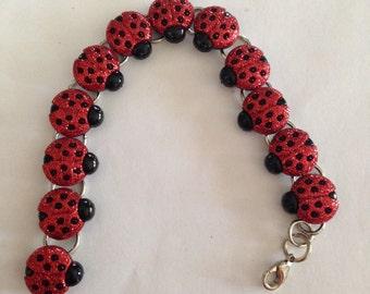Lady Bug Bracelet!!