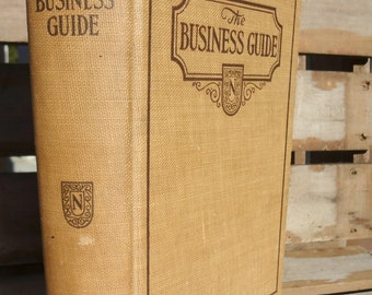 The Business Guide, JLNichols, originally published in 1886, a 1930- 89th edition, Hardback, illustrated