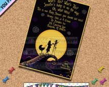 Nightmare before Christmas BABY SHOWER INVITATIONS Invites Halloween Horror Movies Other Party Supplies Sold Seperately