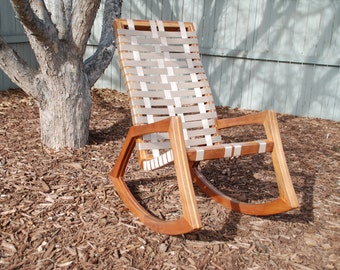 The ROCKER - Walnut & Maple Rocking Chair