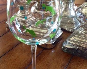 Turtle Wine Glass - Personalized Wine Glass - Turtle Gift - Turtle Wine - Sea Turtle