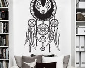 Wall decals and stickers par vinylwallartworks sur etsy for Decoration murale loup
