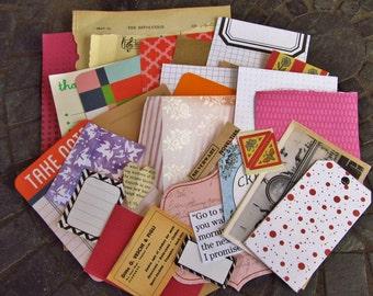 50 peice potluck full of journaling/scrapbooking supplies