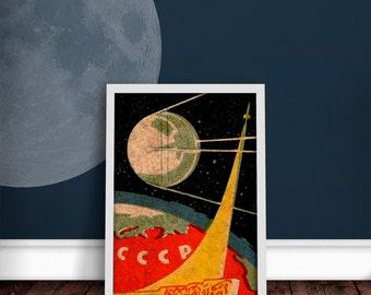 Sputnik Print