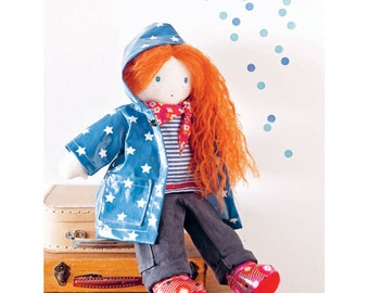 Doll in a Raincoat Sewing Pattern 803530