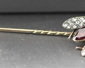 Mid Victorian Fly Stick Pin