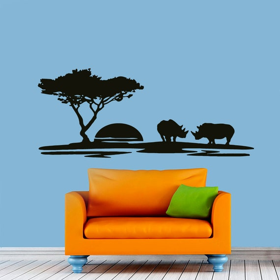 Wall Decals Landscape Sunset Rhino Decal Vinyl By Cozydecal. Mural Home Decor. Patient Signs. Line Signs Of Stroke. Robinson Decals. Chameleon Signs. Romantic Signs Of Stroke. Stem Cells Signs. Label Signs
