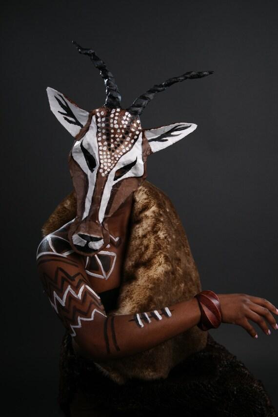 African Gazelle Mask