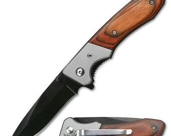 Engraved Gentlemen's Pocket Knife Groomsman gift Custom Knives family reunion Folding knife Personalized Groomsmen gift Custom wedding gift