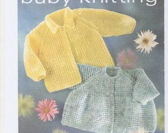 Matinee Jacket , 4ply knitting pattern, matinee knitting pattern, baby