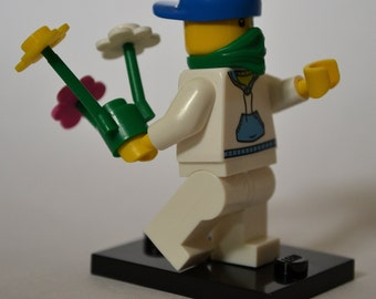 CUSTOM Lego Banksy Inspired Rioter