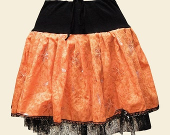 Vintage Inspired Lace Ra-Ra Skirt