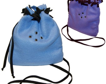CUSTOM Bonding Pouch for Sugar Gliders // No Sew Fleece You Choose Colors