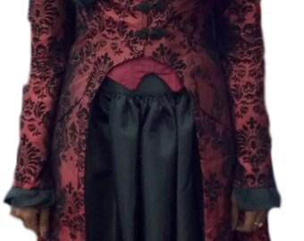 Custom Victorian/Steampunk Women's Costume