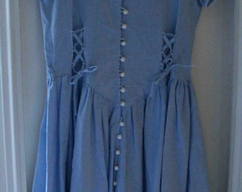 Sky blue maxi dress size 1