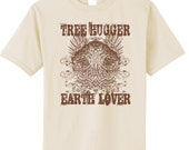 Tree Hugger Earth Lover Organic Cotton T-Shirt