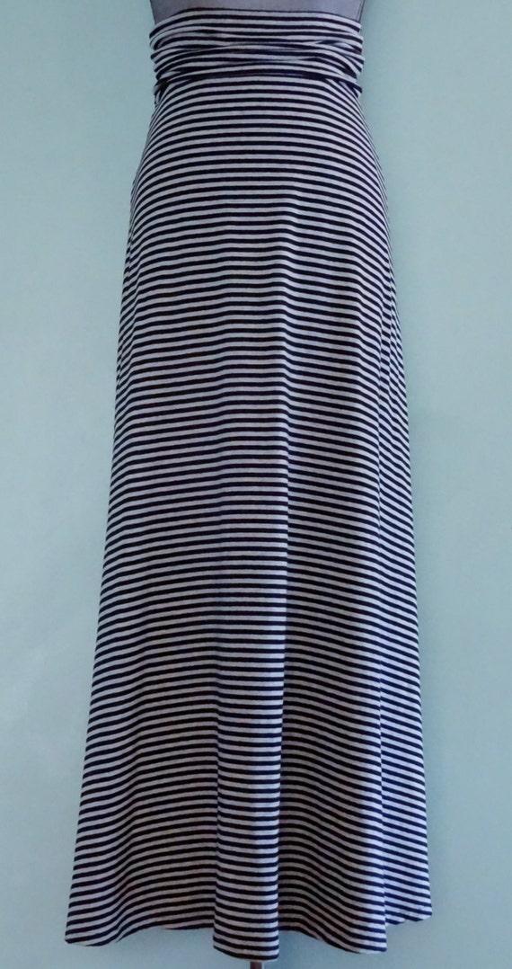 maxi skirt pdf sewing pattern