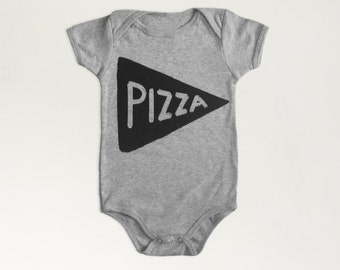 Baby Gift Pizza Baby Bodysuit, new dad mom gift, newborn onesie, new baby shower gift for new mom baby onesie girl boy, tmnt pizza party
