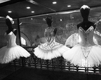 Paris Ballerina Prints, Paris Black and White Photography, Paris Ballet Art, Paris Opera House Ballerina Prints, Paris Opera Ballet Costumes
