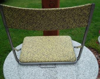 1960's Portable Folding Stadium Seat Nice!