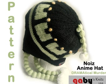 Noiz Anime Hat Pattern