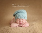 cute...simple...timeless french slouch - newborn hat