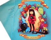 Children's book: Monsters in my House; first print run